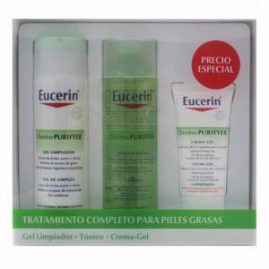 Tripack de Eucerin para pieles acneicas